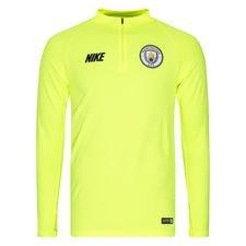 Manchester City Träningströja Dry Squad Drill - Neon/Navy