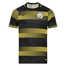 Manchester City Tränings T-Shirt Dry Squad GX 2.0 - Gul/Svart