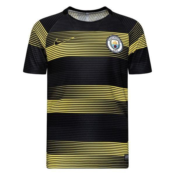 huge discount 49e50 606cf Manchester City Training T-Shirt Dry Squad GX 2.0 - Opti Yellow/Black Kids