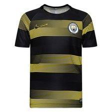 Manchester City Tränings T-Shirt Dry Squad GX 2.0 - Gul/Svart Barn