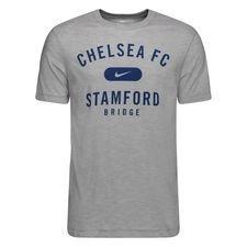 Chelsea T-Shirt Preseason Dry - Grå/Navy