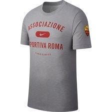 Roma T-Shirt Preseason Dry - Grå