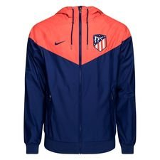 Atletico Madrid Windrunner Woven Authentic - Navy/Röd