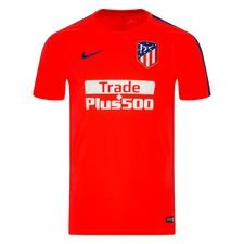 Atletico Madrid Tränings T-Shirt Breathe Squad - Röd/Navy