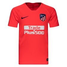 Atletico Madrid Tränings T-Shirt Breathe Squad - Röd/Navy Barn