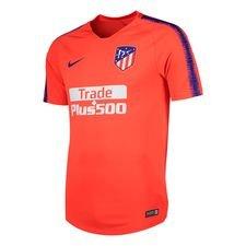 Atletico Madrid Tränings T-Shirt Breathe Squad - Röd/Navy Barn