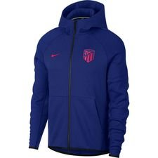 Atletico Madrid Luvtröja NSW Tech Fleece - Navy/Röd