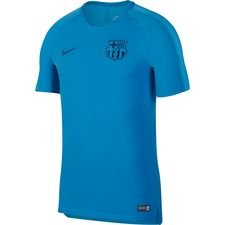 barcelona tränings t-shirt breathe squad - blå/navy - träningsöverdel
