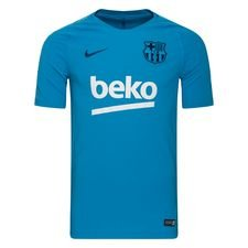 Barcelona Trainingsshirt Breathe Squad - Blauw/Navy