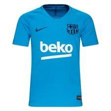 Barcelona Tränings T-Shirt Breathe Squad - Blå/Navy Barn