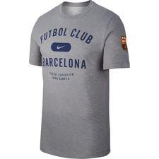 Barcelona T-Shirt Preseason Dry - Grå Barn