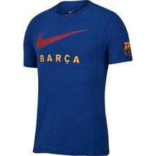 Barcelona T-Shirt Swoosh - Navy