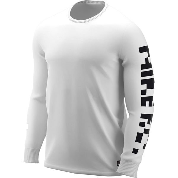 5b2ed96a Nike F.C. Trenings T-Skjorte Dry L/E - Hvit/Sort | www.unisportstore.no