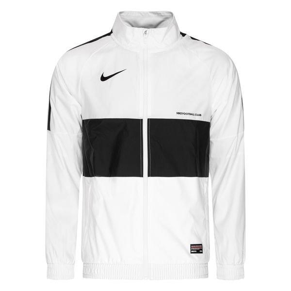 meilleurs tissus belle couleur rétro Nike F.C. Jacket Woven - White/Black