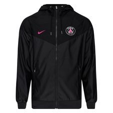 Paris Saint-Germain Windrunner Woven Authentic - Grå/Svart/Rosa