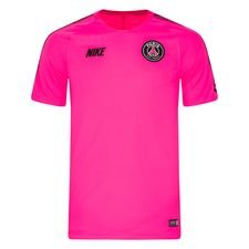 Paris Saint-Germain Tränings T-Shirt Breathe Squad - Rosa/Svart