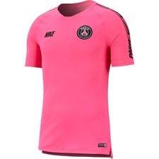 Paris Saint-Germain Tränings T-Shirt Breathe Squad - Rosa/Svart
