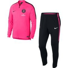 Paris Saint-Germain Träningsoverall Dry Squad Knit - Rosa/Svart