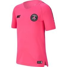 Paris Saint-Germain Tränings T-Shirt Breathe Squad - Rosa/Svart Barn