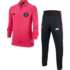 Paris Saint-Germain Trainingspak Dry Squad Knit - Roze/Zwart Kinderen