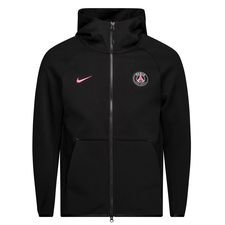 Paris Saint-Germain Luvtröja NSW Tech Fleece - Svart/Rosa