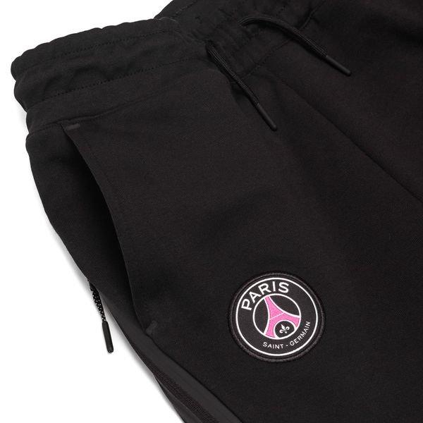 b80855987cf8d3 Paris Saint Germain Sweatpants NSW Tech Fleece - Black Hyper Pink Kids