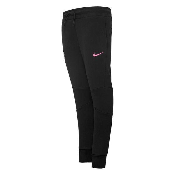 b5017ebe185923 69.95 EUR. Price is incl. 19% VAT. -40%. Paris Saint Germain Sweatpants NSW  Tech Fleece - Black Hyper Pink Kids