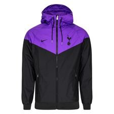 Tottenham Windrunner Woven Authentic - Svart/Lila