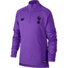 Tottenham Trainingsshirt Dry Squad Drill – Paars/Zwart Kinderen