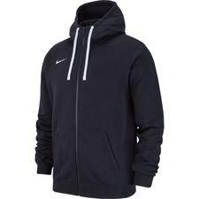 Nike Hoodie Club 19 – Zwart/Wit Kinderen