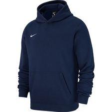 Nike Hoodie Fleece Club 19 – Navy/Wit Kinderen