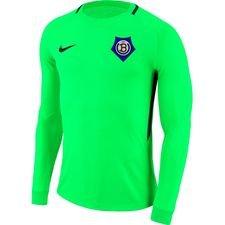 undløse bk målmandstrøje - grøn/sort børn - fodboldtrøjer