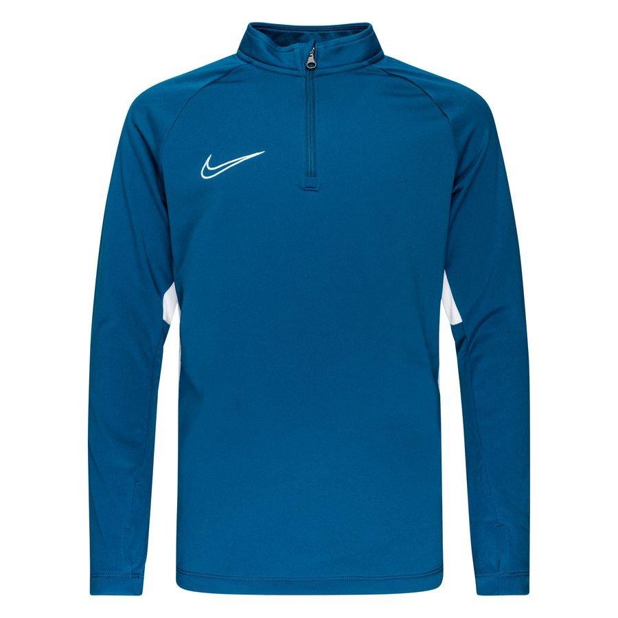 Nike Træningstrøje Academy 19 Drill Top - Blå/Hvid Børn thumbnail