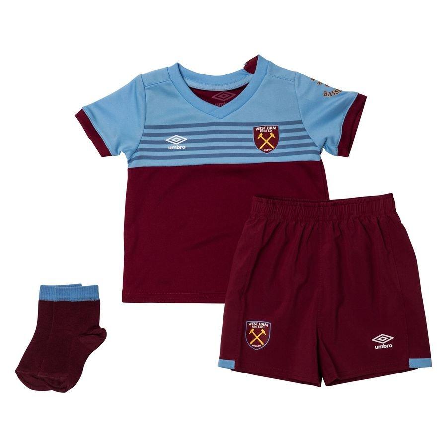 West Ham United Hjemmebanetrøje 2019/20 Baby-Kit Børn