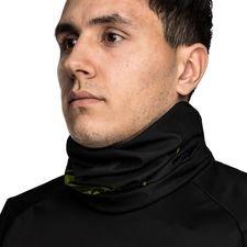 unisport multifunction neck tube - black/green - neckwarmers