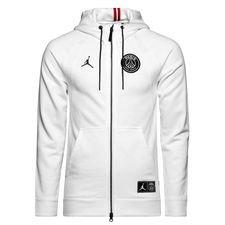 Nike Luvtröja FZ Jordan x PSG - Vit LIMITED EDITION