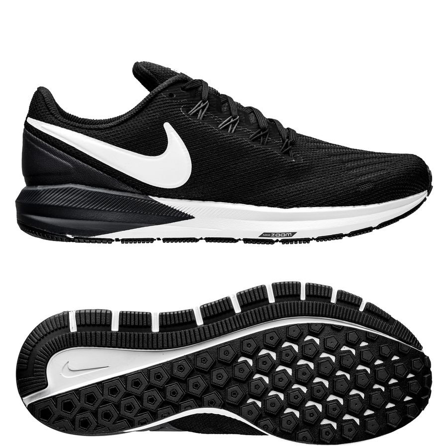 Nike Air Zoom Structure 2 - Sort/Hvid thumbnail