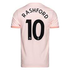 manchester united udebanetrøje 2018/19 rashford 10 - fodboldtrøjer