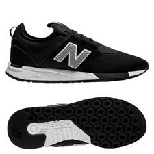 new balance classic 247 - svart/silver - sneakers