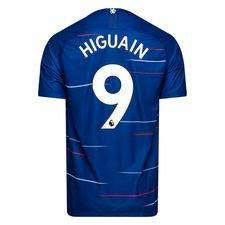 chelsea hjemmebanetrøje 2018/19 higuaín 9 børn - fodboldtrøjer