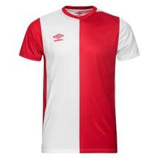 Umbro Voetbalshirt 50/50 - Vermillion/Wit