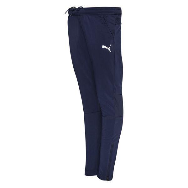 PUMA Training Trousers LIGA 2 - Navy/White Kids