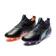 PUMA One 19.1 FG/AG MVP - Schwarz LIMITED EDITION