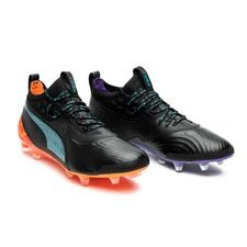 PUMA One 19.1 FG/AG MVP - Sort LIMITED EDITION