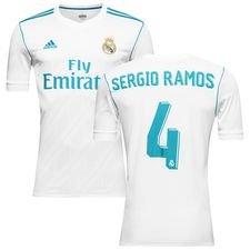 Real Madrid Hemmatröja 2017/18 LFP Barn RAMOS 4
