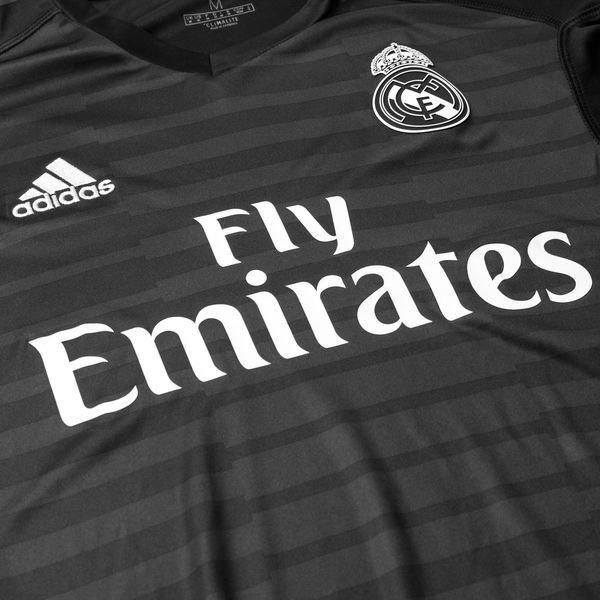 3b8af9c0e37 Real Madrid Goalkeeper Shirt Home 2018 19 Kids NAVAS 1
