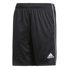 adidas Shorts Core 18 - Svart/Vit Barn