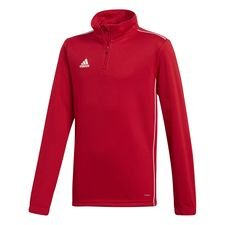 adidas Trainingsshirt Kwartrits Core 18 - Rood/Wit Kinderen