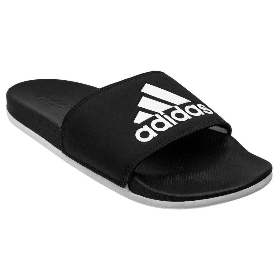 Bilde av Adidas Adilette Cloudfoam Plus Logo - Sort