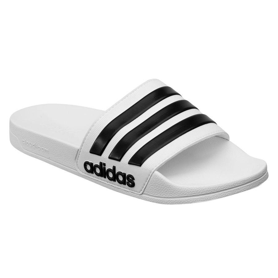 Adilette Cloudfoam sandaler White thumbnail